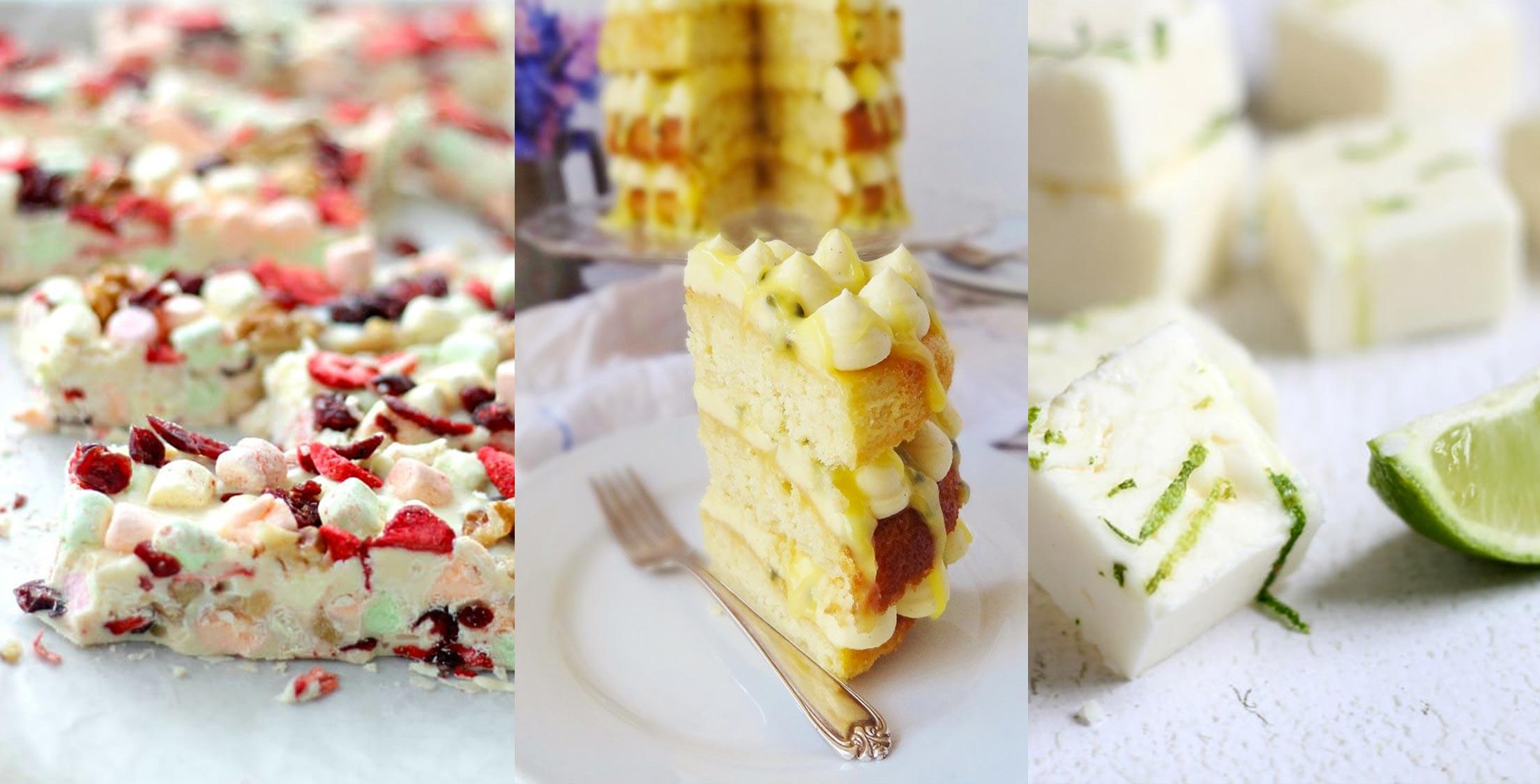 6 wonderful white chocolate treats