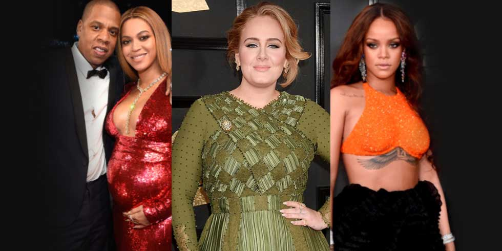 The Grammys = girl power