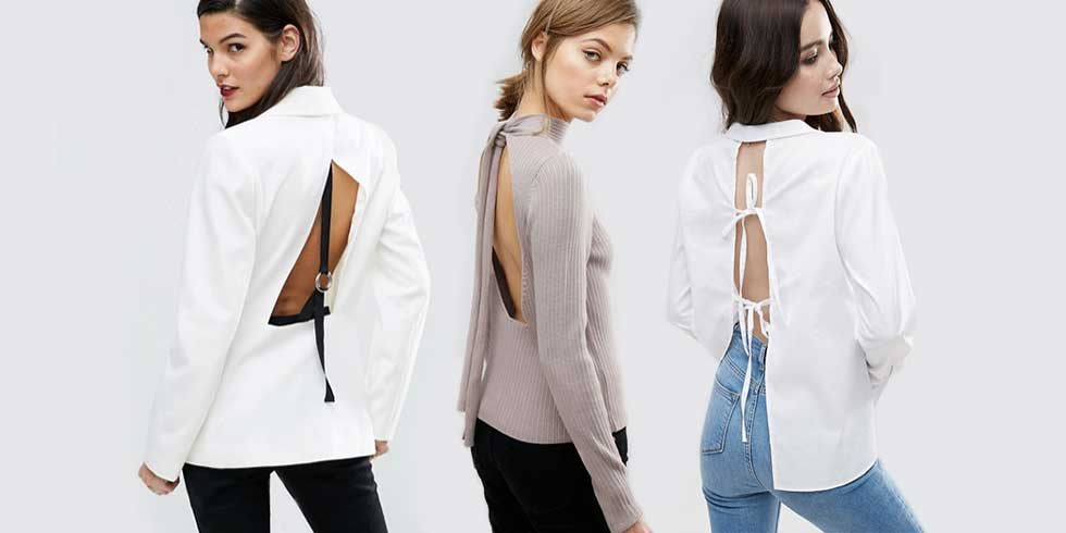 6 open back tops we can't get enough of