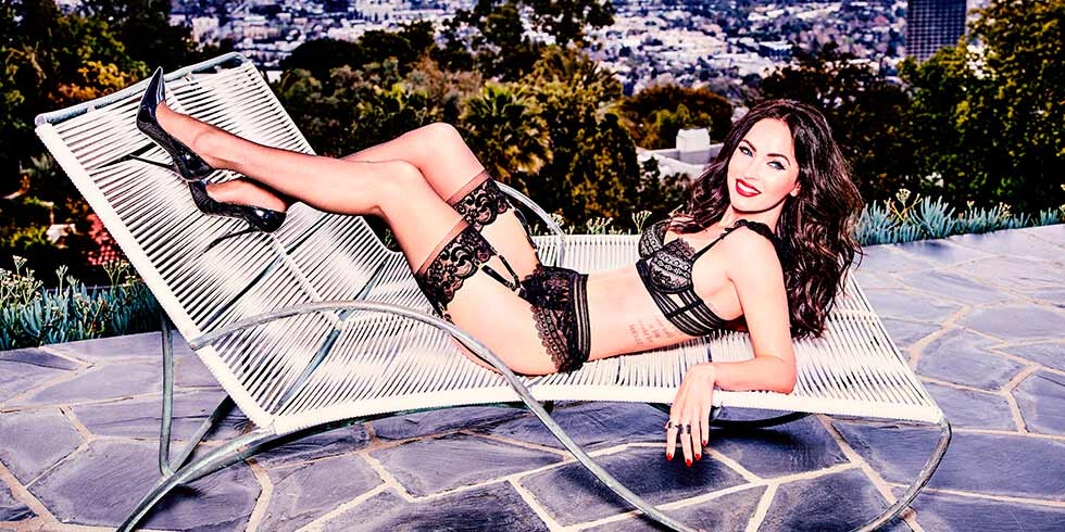 4 ways to up your lingerie game like Megan Fox