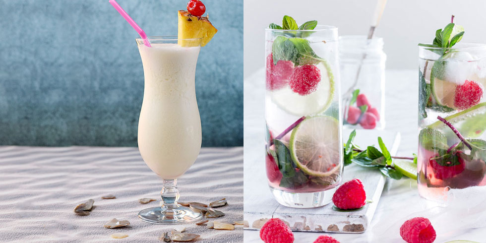 4 summer vacation inspired cocktails