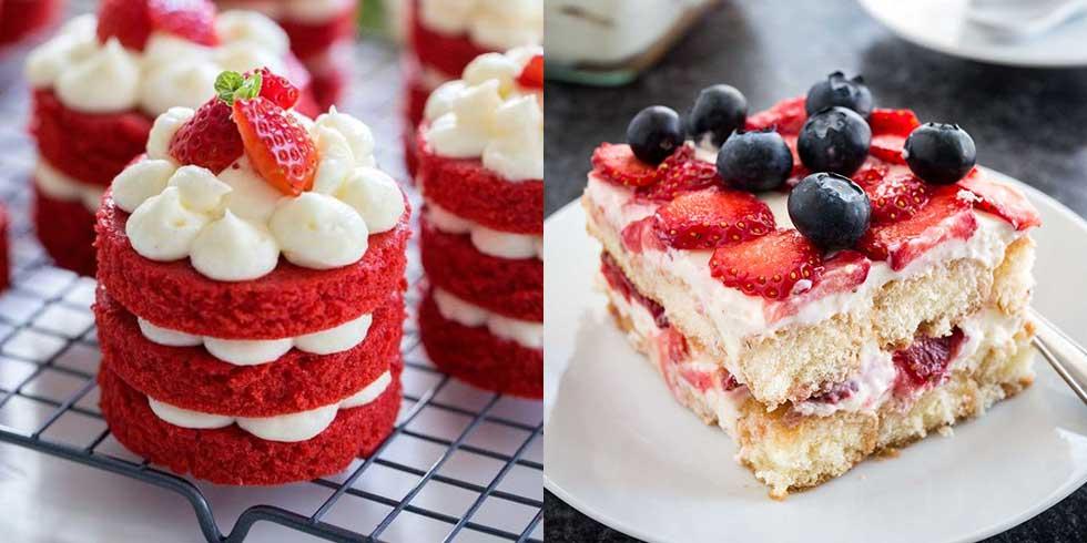 6 scrumptious strawberry desserts