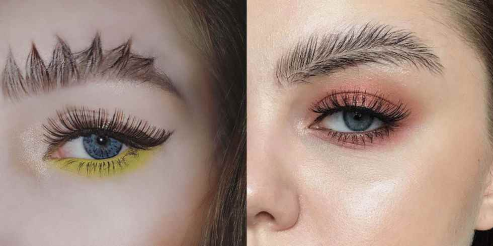 WTF is that: 6 crazy brow trends