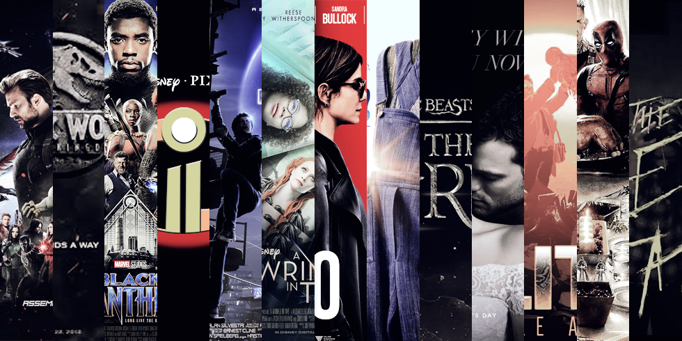 13 movies to get you excited about 2018