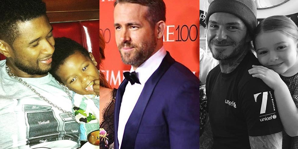 7 of the hottest celebrity dads