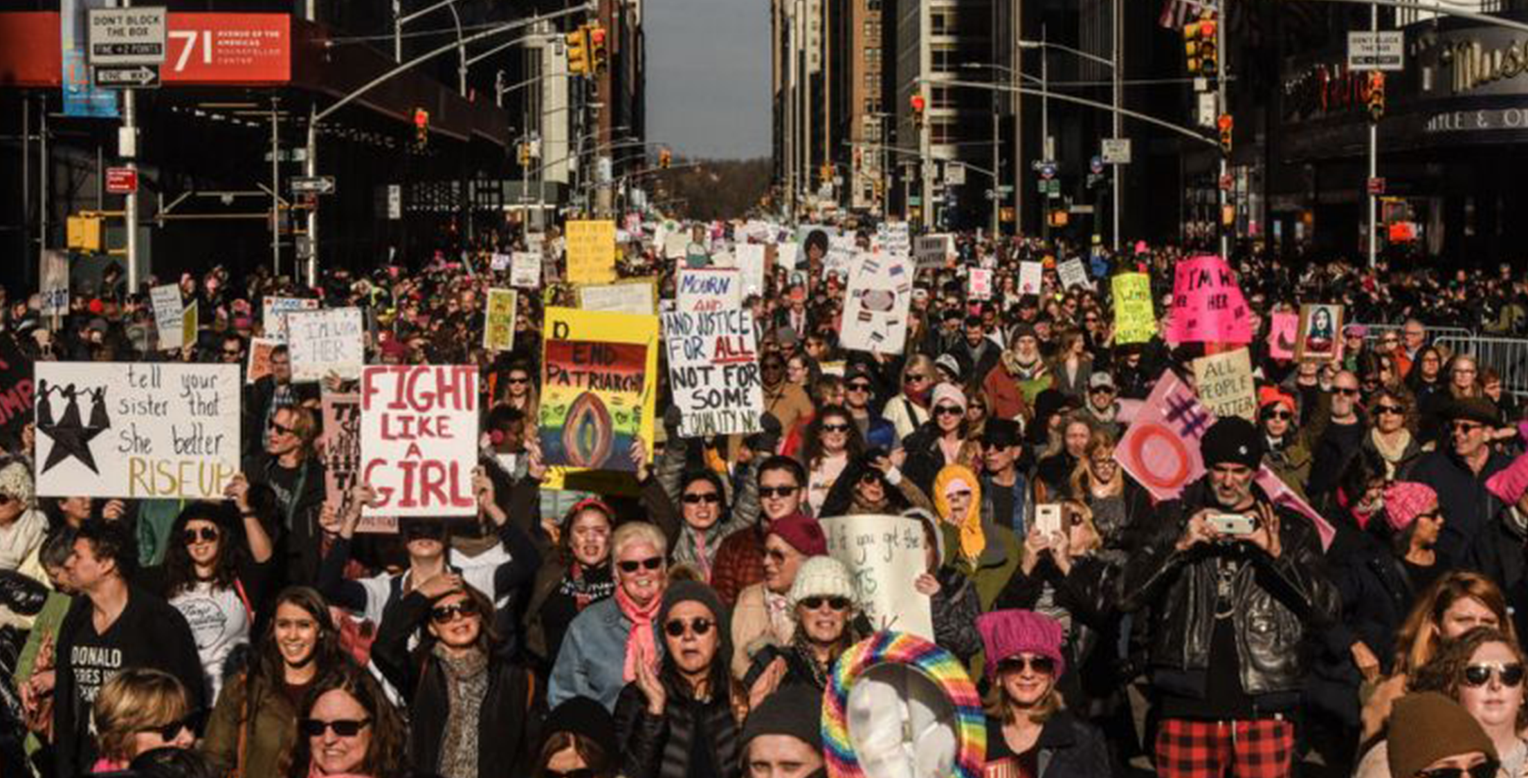 The best signs from Women's March 2018