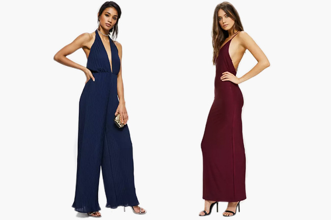 c821fdfda9c This simple burgundy strappy maxi will give you a beautiful minimalistic  look. You can add a thin chain necklace or skinny earrings, ...
