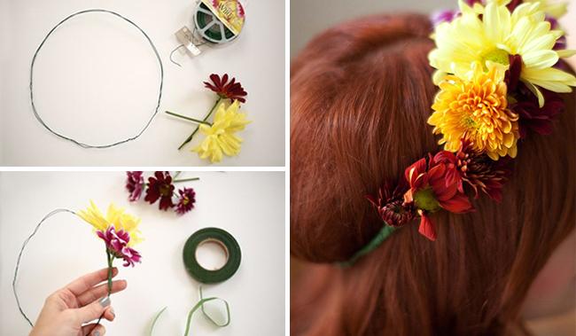 Friendsgiving Flower Crowns