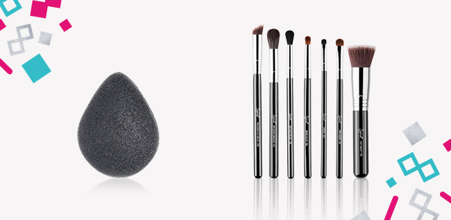 Sigma Brush Set & Konjac Sponge