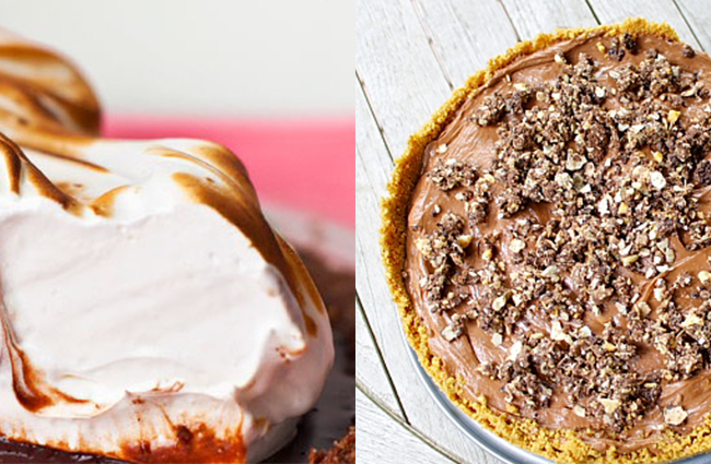 chocolate Thanksgiving foods