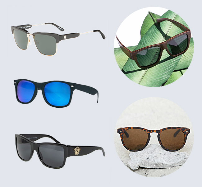 84208fc67c That s why we love these Bellows from Spy Optics. Loving these Barstow  Bamboo Sunglasses from Woodzee. We love the square shape and the natural  wood feel.