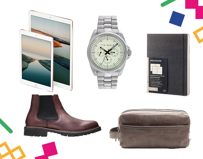 Luxury Holidays gifts for him.