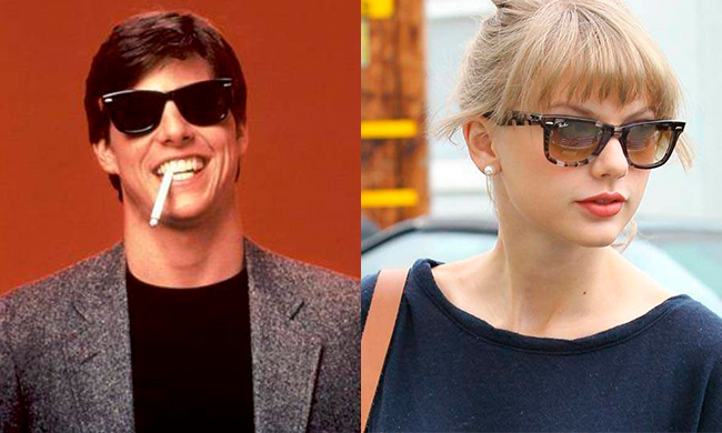5fc9dd15ef92b Ray-Ban sunglasses are an essential addition to any off-duty ensemble  (they re a key part of any celeb airport uniform). Last year when Taylor  Swift was ...