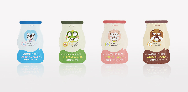 Ampoule Animal Face Masks