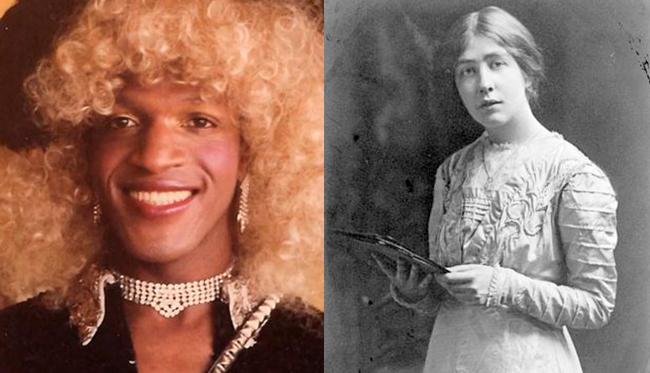 Marsha P. Johnson & Sylvia Pankhurst