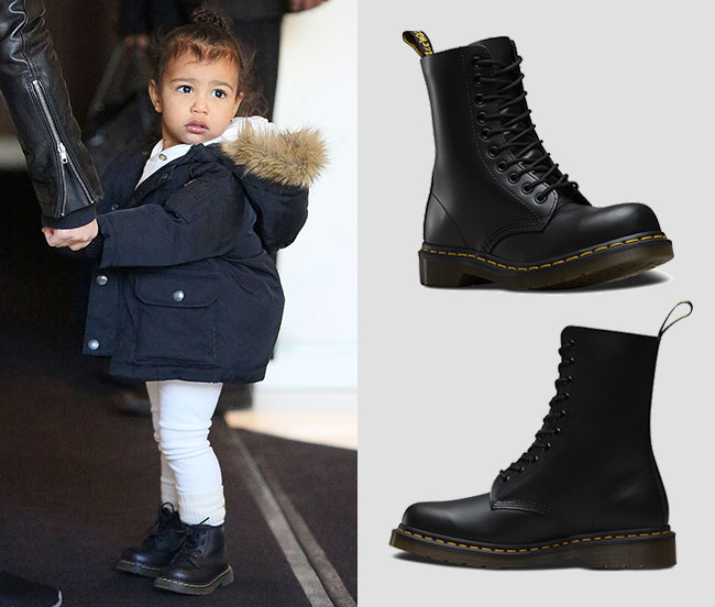 Get The Celeb Look With Dr Martens The Edit