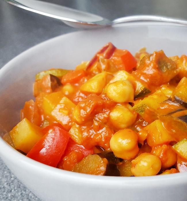 Vegans-Curry