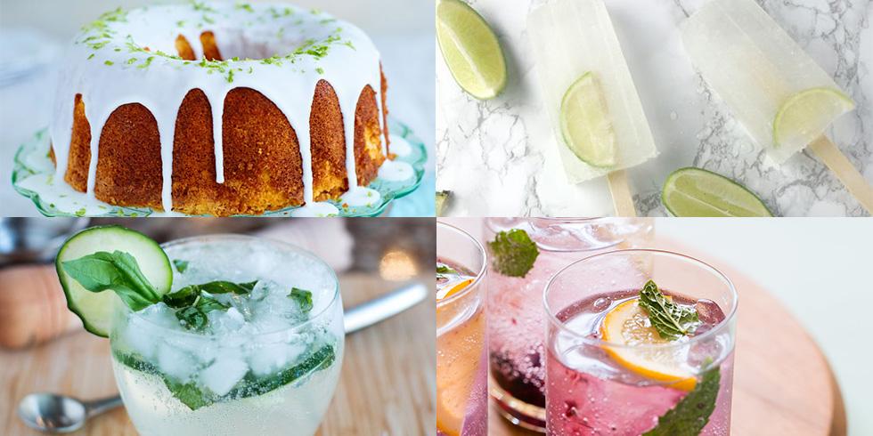 6 zesty world gin day recipes